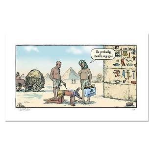 """Bizarro! """"Egypt Dog"""" Numbered Limited Edition Hand"""