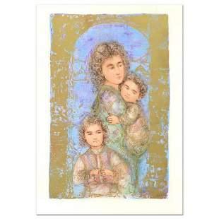 "Edna Hibel (1917-2014), ""Catherine and Children"""