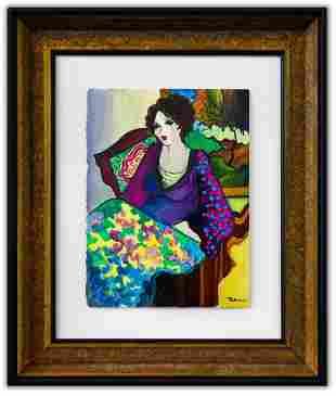 "Patricia Govezensky- Original Watercolor ""Juliana"""