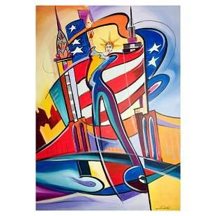 "Alfred Gockel, ""Rhythm of NY"" Hand Signed Limited"