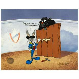 """""""Bugs and Gulli-Bull"""" Limited Edition Animation Cel by"""
