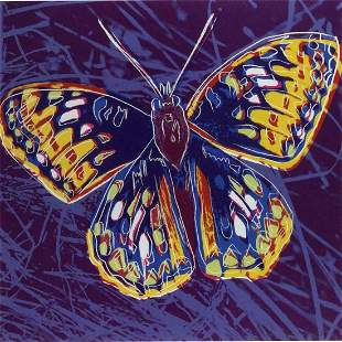 "Andy Warhol- Screenprint in colors ""San Francisco"