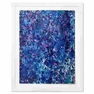 "Wyland, ""Splash 160"" Framed Original Watercolor"