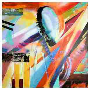 """Alfred Gockel, """"Heal My Soul"""" Hand Signed Limited"""