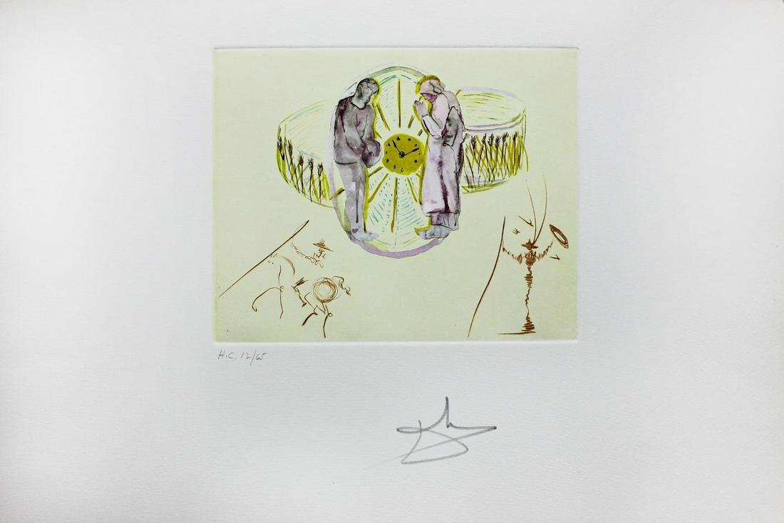 Salvador Dali- Original Collages with Original Etchings