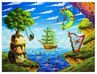 """Eugene Poliarush- Original Oil on Canvas """"Summertime"""""""