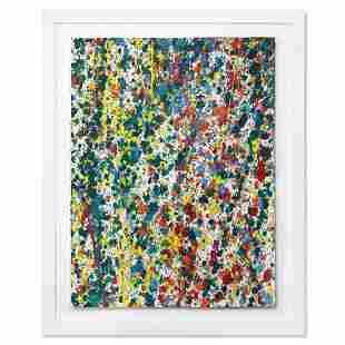 "Wyland, ""Splash 64"" Framed Original Watercolor Painting"