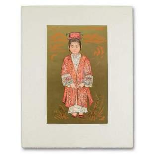 "Edna Hibel (1917-2014), ""Sun Ming Tsai of Beijing"""