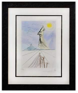 """Salvador Dali- Original Lithograph """"Benjamin (From"""