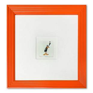 """""""Daffy Duck"""" Framed Limited Edition Etching with"""