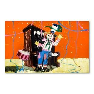 "Paul Blaine Henrie (1932-1999), ""Ragtime Band"" Hand"