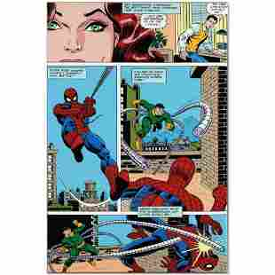 """Marvel Comics """"Amazing Spider-Man #90"""" Numbered Limited"""