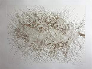 Guillaume Azoulay Original Etching Hand Signed and