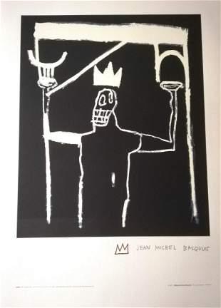 Jean-Michel Basquiat Original lithograph PAPER