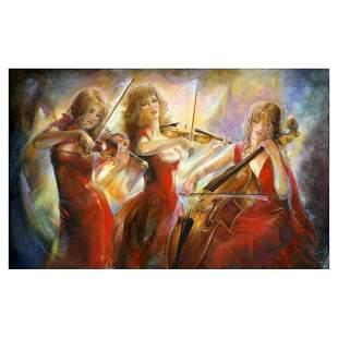 "Lena Sotskova, ""Concert"" Hand Signed, Artist"
