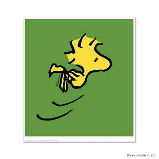 """Peanuts, """"Woodstock"""" Hand Numbered Limited Edition Fine"""