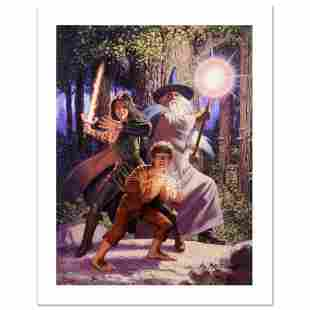 """""""Arwen Joins The Quest"""" Limited Edition Giclee on"""