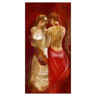 "Lena Sotskova, ""Secrets"" Hand Signed, Artist"