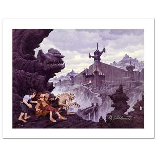 """""""City Of The Ringwraiths"""" Limited Edition Giclee on"""