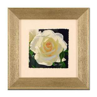 """Brian Davis, """"French Lace with Bud"""", Framed Limited"""