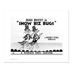 """""""Show Biz Bugs -Both Dancing"""" Numbered Limited Edition"""