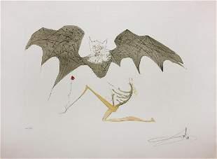 "Salvador Dali- Original Engravings ""L'Ange de la"