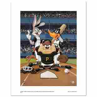 """""""At the Plate (Pirates)"""" Numbered Limited Edition"""