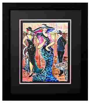 "Patricia Govezensky- Original Watercolor ""Best Show in"