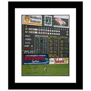 """""""Rose in Outfield at Crosley"""" Framed Archival"""