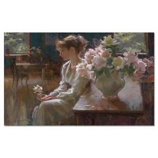 """Dan Gerhartz, """"The Moment"""" Limited Edition on Canvas,"""