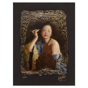 """George Tsui, """"Painting Eyebrow"""" Limited Edition"""