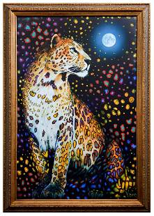 "Vera V. Goncharenko- Original Giclee on Canvas ""Looking"