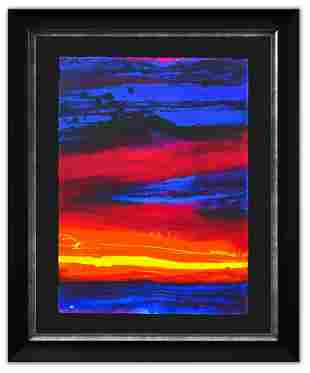 """Wyland- Original Watercolor Painting """"Untitled"""""""