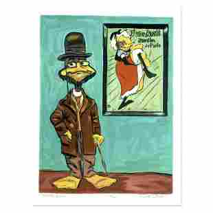 """Chuck Jones """"Toulouse Le Duck"""" Hand Signed Limited"""