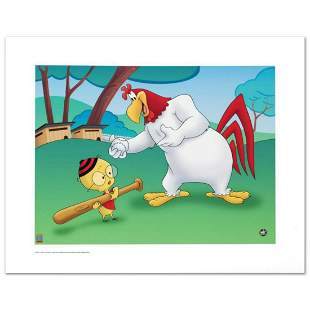"""""""Let's Play Ball"""" Limited Edition Giclee from Warner"""