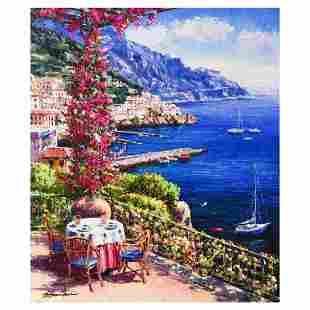 """Sam Park, """"Amalfi Vista"""" Hand Embellished Limited"""