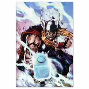 """Marvel Comics """"Thor: Heaven and Earth #3"""" Numbered"""