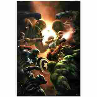 """Marvel Comics """"New Avengers #43"""" Numbered Limited"""