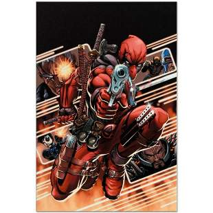 """Marvel Comics """"Cable & Deadpool #9"""" Numbered Limited"""