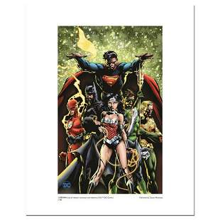 """""""Justice League"""" Numbered Limited Edition Giclee from"""