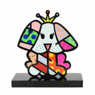 """Romero Britto""""Royalty II"""" Hand Signed Limited Edition"""