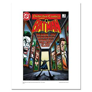"""Batman """"Rogues Gallery"""" Numbered Limited Edition Giclee"""