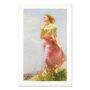"""Pino (1939-2010) """"Wind Swept"""" Limited Edition Giclee."""