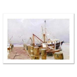 """Pino (1939-2010) """"Safe Harbor"""" Limited Edition Giclee."""