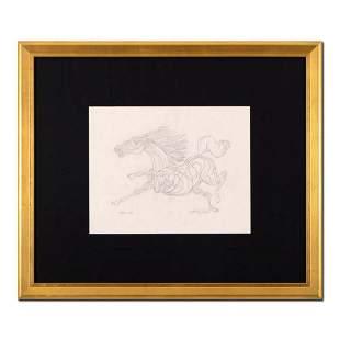 "Guillaume Azoulay - ""BI Sketch"" Framed Original"
