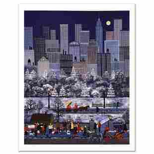 "Jane Wooster Scott, ""New York, New York"" Hand Signed"