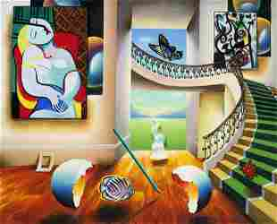 "Ferjo ""DREAMING"" Giclee on Canvas"