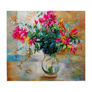 "Lenner Gogli, ""Abundant Blooms"" Limited Edition on"