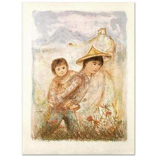 """""""The Great Wall"""" Limited Edition Lithograph by Edna"""