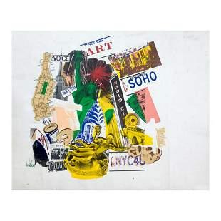 "Steve Kaufman (1960-2010) ""New York, New York"" Hand"